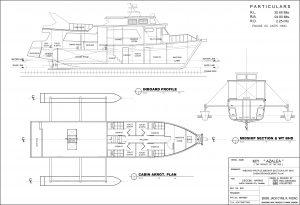 Boat building plan deck