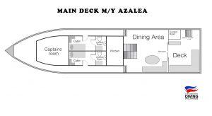 Main Deck M/Y Azalea